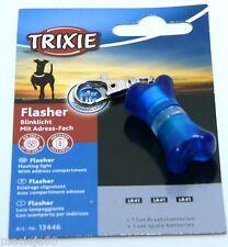TRIXIE PER CANE Address Tag ID CON LUCE INTERMITTENTE scrivere i dettagli di contatto