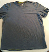 C9 By CHAMPION Mens Duo Dry Short Sleeve Running T Shirt Blue Size XL