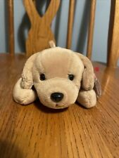 1997 Fetch The Golden Retriever Dog New With Tag 4th Gen Ty Beanie Baby