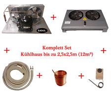 Kühlhaus, Kühlzelle, Kälteanlage, Set, Kältemittel R404a Kompressor