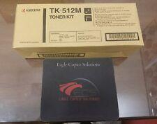 Kyocera TK 512M Toner Cartridge Kit Magenta for ecosys 5020 5030
