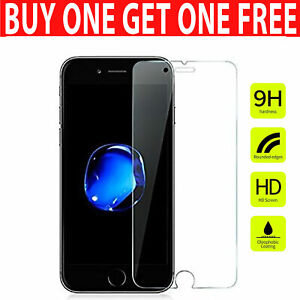 For iPhone 8 Plus - 100% Genuine Tempered Glass Screen Protector