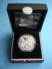 UK 2009 COUNTDOWN TO LONDON 2012 OLYMPICS £5 PIEDFORT SILVER PROOF COIN