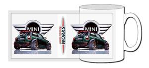 mini cooper s mug, rally, john cooper, jcw, car, new mini, gp, works, union jack