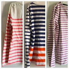 Boden/Johnnie B Girls Lot of Three Striped Tops Size 11-12Y EUC