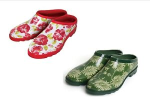 Laura Ashley Gardening/Casual Clogs Kimono OR Cressida Comfort
