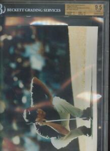 1997 Topps Photos #3 Tiger Woods Golf ROOKIE Card Graded BGS 9.5 GEM Photo 8x10