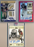Tre'QUAN SMITH > 2018 3pc Contenders Optic Red AUTO, Illusions AUTO & Name Patch