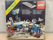 LEGO BASEPLATES X2 LEGOLAND 305 - SPACE LUNARE VINTAGE - NUOVO MISB