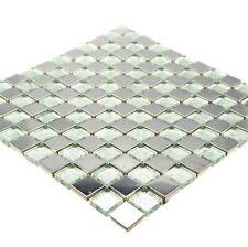 1Krt=11 Tafeln Sonderposten Naturstein Brickmosaik Castanao 30,5x30,5x0,8cm
