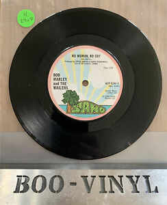"""Bob Marley and The Wailers – No Woman No Cry 1974 7"""" Island WIP 6244 Ex Con"""