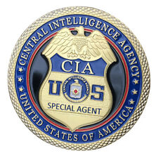 Central Intelligence Agency CIA GP Challenge coin 1408#