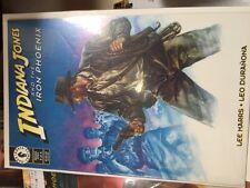 INDIANA JONES & THE IRON PHOENIX Complete Comics Set Lot 1 2 3 4 Dark Horse NM-