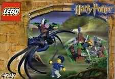 LEGO HARRY POTTER ARAGOG IN THE DARK FOREST 4727 100% COMPLETE 2 EXCLUSIVE FIGS
