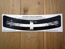 Cornish Flag Worn Distressed Helmet Visor Sunstrip Sticker Race CAR Bike Kernow