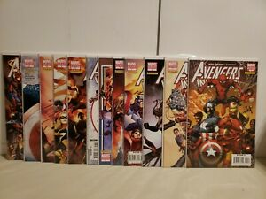 Avengers/Invaders #1-12 Variant Set Signed Granov Alan Davis Mark Farmer Epting