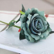 Wedding Home Artificial Silk Rose Flower Bouquet Decor Flowers Arrangement