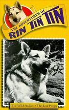The Adventures of Rin Tin Tin: The Wild Stallion/The Lost Puppy (VHS, 1997) NEW