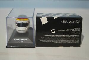 Minichamps Bleffe Helmet Bernd Schneider 1996 382 963601