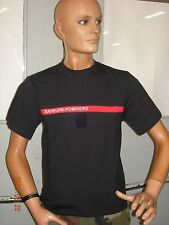 1  T SHIRT  SAPEURS POMPIERS TAILLE XS (idem taille 80) NEUF
