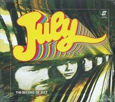 JULY - THE SECOND OF JULY 1967 TOM NEWMAN'S PRE-ALBUM HOME STUDIO DEMOS SEALD CD