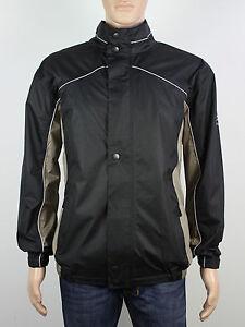 NEW Firethorn Golf Size S M L XL XXL 3XL mens black zip up waterproof jacket