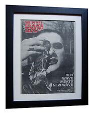 DAMNED+Neat+New Rose+NME 1977+POSTER+AD+FRAMED+ORIGINAL+VINTAGE+FAST GLOBAL SHIP