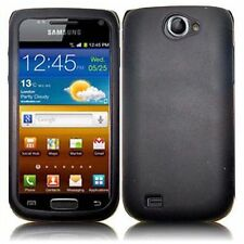 For Samsung Exhibit II 4G T679 Silicone Skin Cover Case - Black