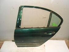 Tür BMW E46 Limousine hinten links Farngrün-Metallic