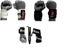 Power Weight Lifting Wrist Wraps Hand Supports Gym Training Fist Strap Bandages