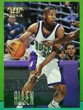 Ray Allen rookie card 1996-97 Fleer # 212