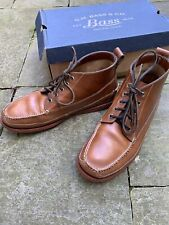 GH Bass Camp Moc Ranger Pull up Leather Boots, UK 8, Oi Polloi, End