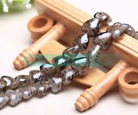 10pcs 16X14mm Heart Lampwork Glass Charms Loose Spacer Beads Jewelry Findings