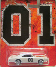 Hot Wheels CUSTOM '69 DODGE CHARGER General Lee The Dukes of Hazzard Real Riders