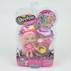 Shopkins Shoppies 'Bubbleisha' Bubble Trouble Exclusive Shopkins Accs. VIP Card