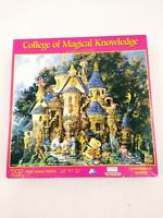 """SunsOut 1500 Pc Jigsaw Puzzle Collage Of Magical Knowledge 26"""" x 32"""" COMPLETE"""