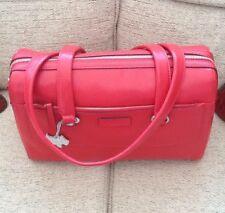 Genuine BNWT Radley Odessa Large Red Leather Barrel Shoulder Bag 60879MX