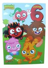 Moshi monsters birthday card for age 6 (Six) by Gemma