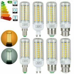 E27/B22/E14/G9/GU10 LED Corn Light Bulb SMD5730 Cool/Warm White Spotlight Lamps