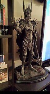 """Lire Bien"" Statue Sauron The Dark Lord Weta Sideshow Le Seigneur Des Anneaux"
