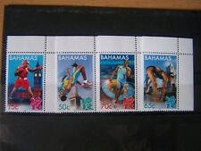 BAHAMAS,2012,OLYMPIC GAMES,COMPLETE SET OF 4 VALS,U/M,CAT £6.75.EXCELLENT..
