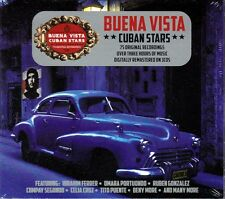 BUENA VISTA CUBAN STARS - 75 ORIGINAL RECORDINGS (NEW SEALED 3CD)