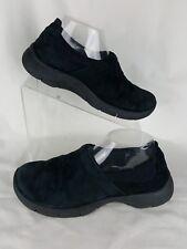 Dansko Size 38 Clogs Loafer Black Suede 7.5-8 US Slip On Comfort