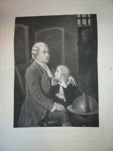 GOUPIL (1834-1890) GRANDE GRAVURE LOUIS XVI XVII DAUPHIN BOURBON ROYALISTE 1870
