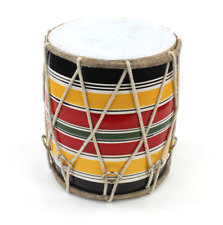 Dholki Small Indian Hand Drum Bhangra Percussion Dholak