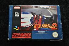 F1 Pole Position 2 Boxed Nintendo SNES