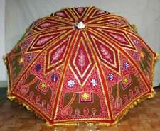 Indian Handmade Wedding Party Large Sun Parasol Garden Umbrella Sun Protection