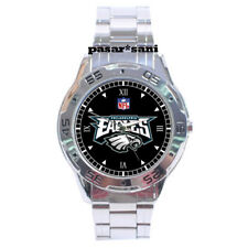 NEW NFL PHILADELPHIA EAGLES Custom Chrome Men Wrist Watch Men's Watches Gifts