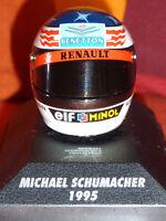 MINICHAMPS 510389501 MICHAEL SCHUMACHER BELL HELMET 1995 BENETTON HELM 1:8 NEU