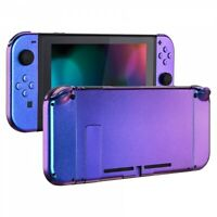 Chameleon Console Back Plate Case + Controller Housing Shell for Nintendo Switch